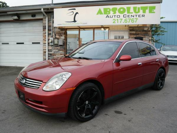 2003 *Infiniti *G35* Sedan w/Leather -6-Speed Manual -