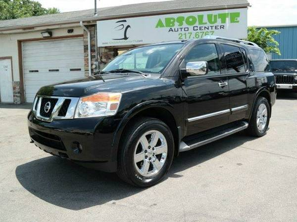 2012 **Nissan** Armada** Platinum** ||Leather - Backup Camera - Nav ||