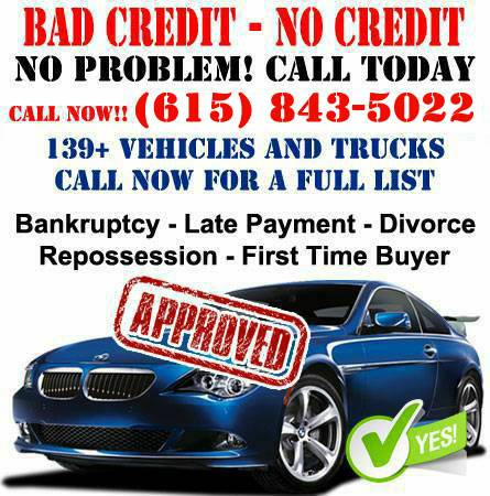BAD CREDIT NO CREDIT WE SAY YES JUST $499 DOWN! WE SAY YES DRIVE NOW