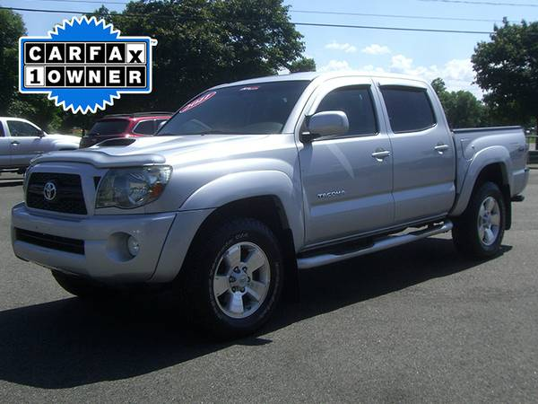► 2011 TOYOTA TACOMA DOUBLE CAB TRD SPORT 4WD ONE OWNER PICKUP...