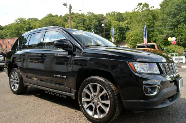 2014 Jeep Compass *4WD* 1 OWNER!!!* BACK UP CAM* DVD PLAYER* LEATHER