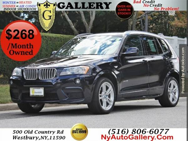 2013 Bmw X3 Xdrive28i Easy Finance