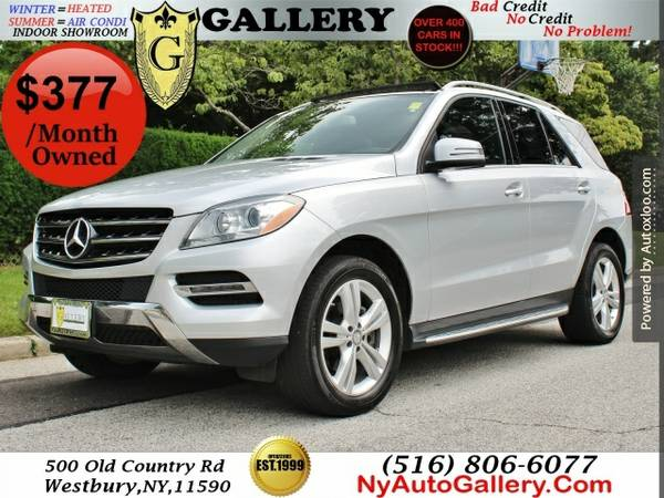 2014 Mercedes-benz M-class Ml350 4matic Easy Finance Easy Finance $299