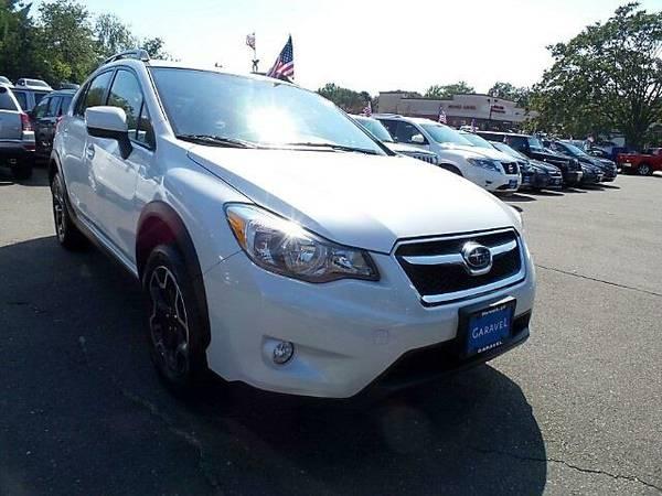 2014 *Subaru XV Crosstrek* - Subaru Satin White Pearl
