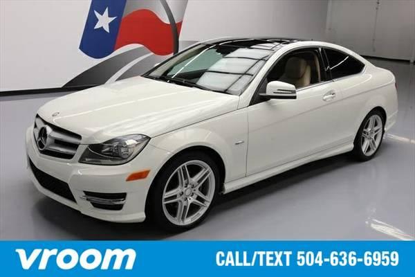 2012 Mercedes-Benz C-Class C250 7 DAY RETURN / 3000 CARS IN STOCK