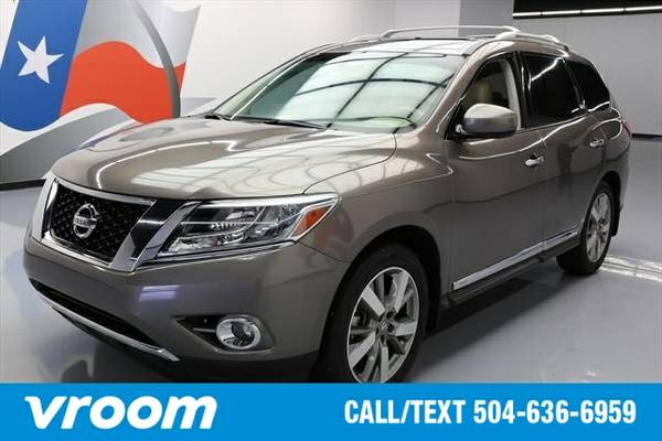 2013 Nissan Pathfinder 7 DAY RETURN / 3000 CARS IN STOCK