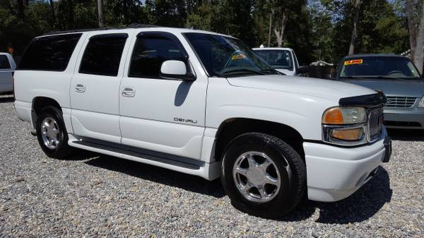 2003 GMC Yukon XL Denali, Automatic, A/c, Leather Seats, 3rd Row Seat