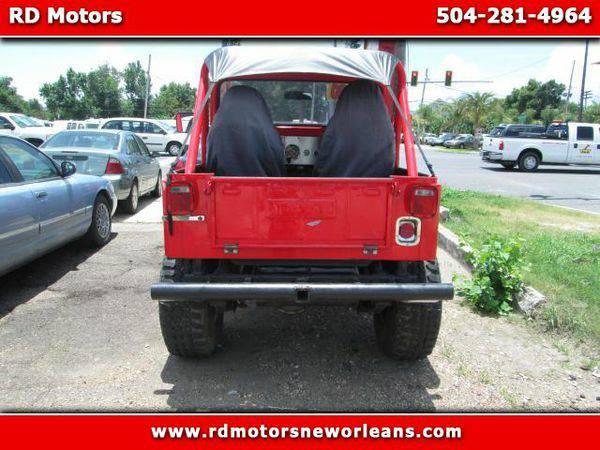 1980 *Jeep* *CJ-5*