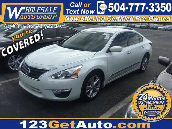 2014 *Nissan* *Altima* 2.5 SV - EVERYBODY RIDES!!!