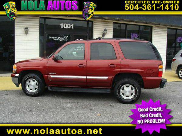 2003 *GMC* *Yukon* 2WD -BAD CREDIT... NO PROBLEM‼️