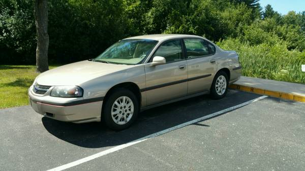 2002 Chevy impala price reduced for quick sale