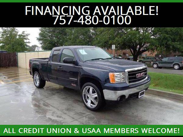 ★2007 GMC SIERRA 1500 EXT. CAB 4WD★MILITARY AND CIVILIAN...