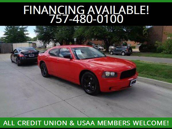 ★2010 Dodge Charger RED HOT★MILITARY AND CIVILIAN...