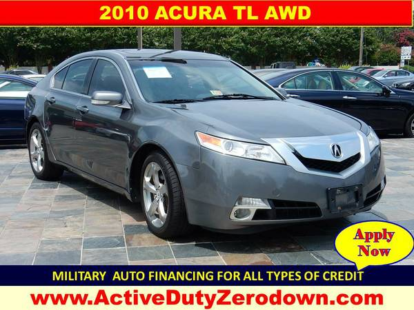 2010 ACURA TL AWD Military Financing= ===