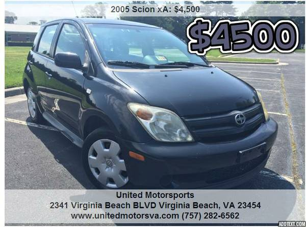 ___2005 SCION XA__CARFAX CERTIFIED__VERY CLEAN
