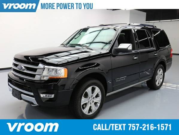 2016 Ford Expedition Platinum SUV 7 DAY RETURN / 3000 CARS IN STOCK