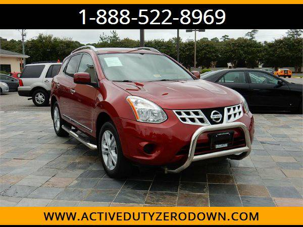 2012 NISSAN ROGUE SV - LOW MILES - MILITARY FINANCING!
