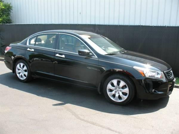 2009 Honda Accord EX-L Black ===> WWW.AGAUTO.COM <===