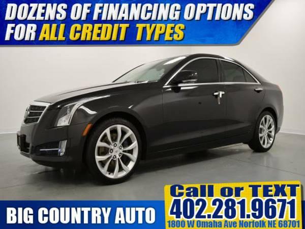 2013 Cadillac ATS 4dr Sdn 2.0L Performance AWD 4dr Car 4dr Sdn AWD
