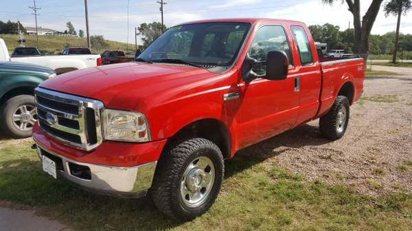 2006 FORD F250 4X4 SHORTBOX EXT CAB