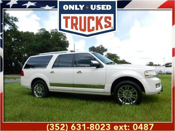 2008 *Lincoln Navigator L* 2WD 4dr (8cyl, 5.4L, 300.0hp) WE...