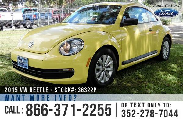 2015 Volkswagen VW Beetle 1.8T Classic ** Leather, Warranty, Hatchback