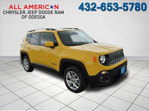 2015 JEEP RENEGADE LATITUDE 3,022 miles only