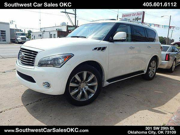 2012 *Infiniti* *QX56* Base 4x2 4dr SUV - Home of the ZERO Down ZERO I