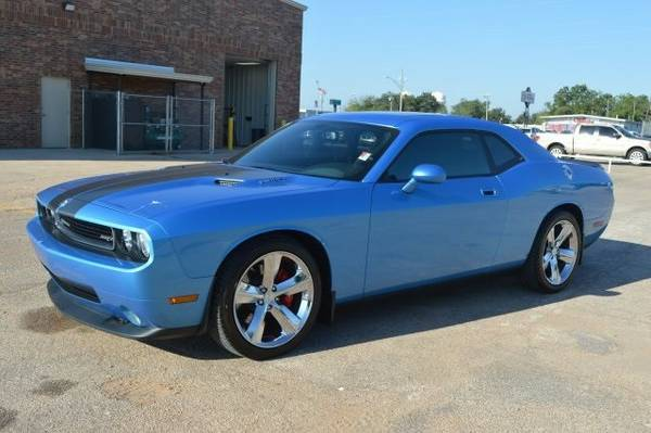 2010 DODGE CHALLENGER SRT8 392**B5 BLUE**LEATHER**SUNROOF**BACK UP CAM