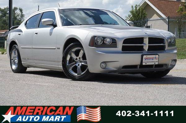 2008 DODGE CHARGER RT**LEATHER**PWR ROOF**HTD SEATS**CHROME WHEELS**