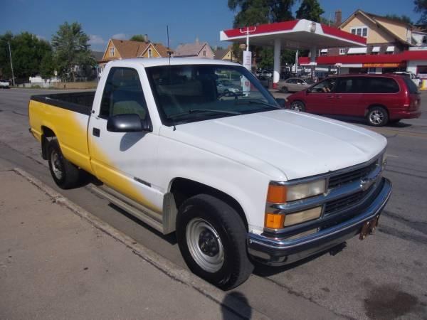 1998 Chevrolet Silverado 3500 4X2