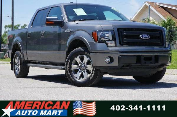 2013 FORD F-150 FX4 CREW 4X4**ONLY 34K**5.0L V8**VERY NICE**CLN CARFAX