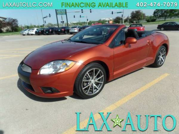 2012 Mitsubishi Eclipse Spyder GS Sport Convertible * 62,875 Miles!