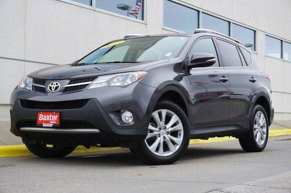 2013 Toyota RAV4 AWD 4dr Limited (Natl) Sport Utility AWD 4dr