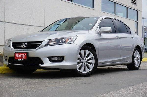 2014 Honda Accord 4dr I4 CVT EX-L PZEV 4dr Car 4dr I4 CVT PZEV