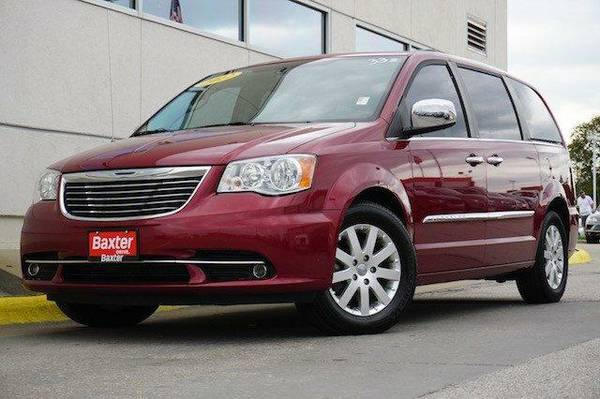 2012 Chrysler Town and Country 4dr Wgn Touring-L Mini-van, Passenger...