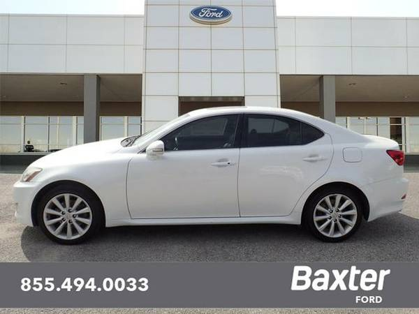 2010 Lexus IS AWD 4dr Sedan Base