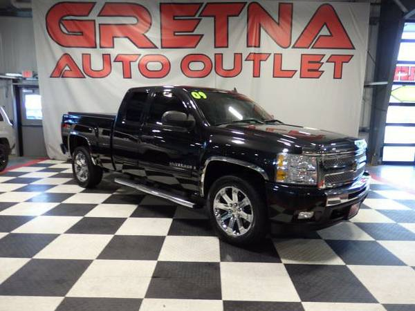 2009 Chevrolet Silverado 1500 LT Z71 EXTENDED CAB 4X4 ONLY 59K FACTORY