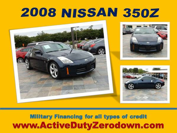 2008 NISSAN 350Z - #1 in USMC Approvals - Bad Credit OK