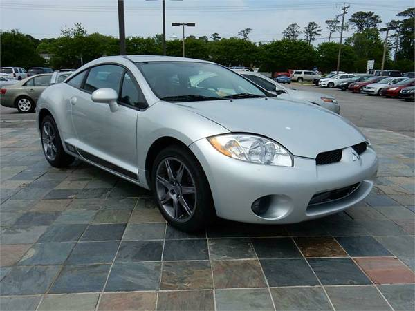 2008 MITSUBISHI ECLIPSE SE, Silver__Military Zero Down-Bad Credit OK