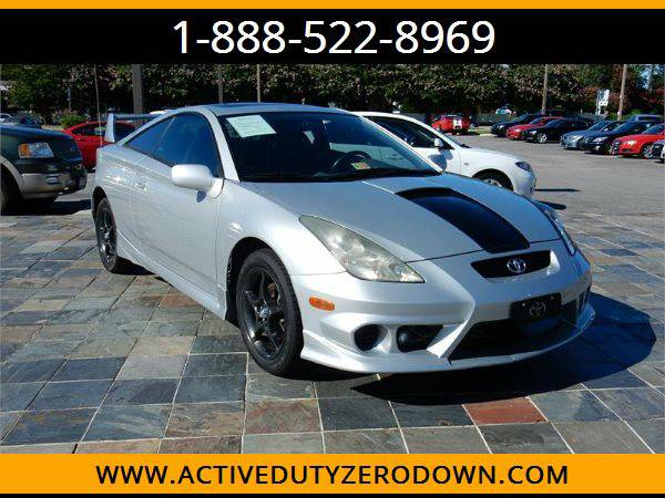 2002 TOYOTA CELICA GT-S --MILITARY $O DOWN FINANCING!_ALL CREDIT OK