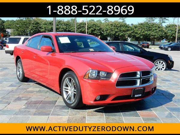 2012 DODGE CHARGER SXT --MILITARY $O DOWN FINANCING!_ALL CREDIT OK