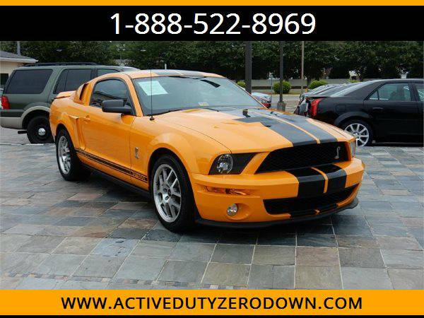 2009 FORD MUSTANG SHELBY GT500 --MILITARY FINANCING!