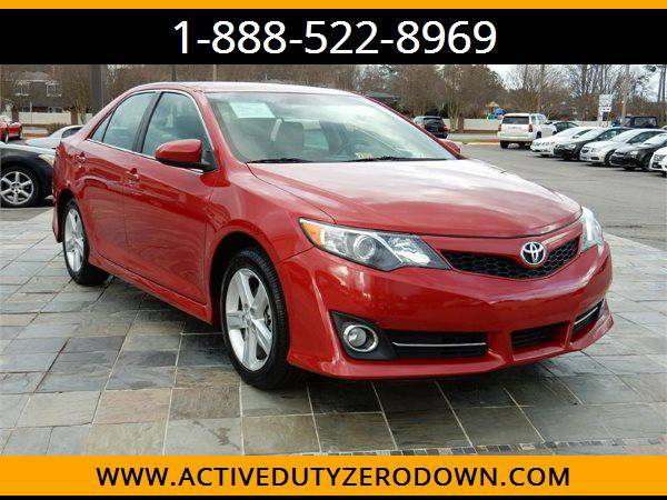 2014 TOYOTA CAMRY SE --MILITARY $O DOWN FINANCING!_ALL CREDIT OK