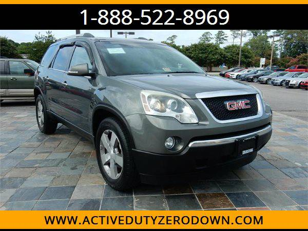 2011 GMC ACADIA SLT-1 --MILITARY $O DOWN FINANCING!_ALL CREDIT OK