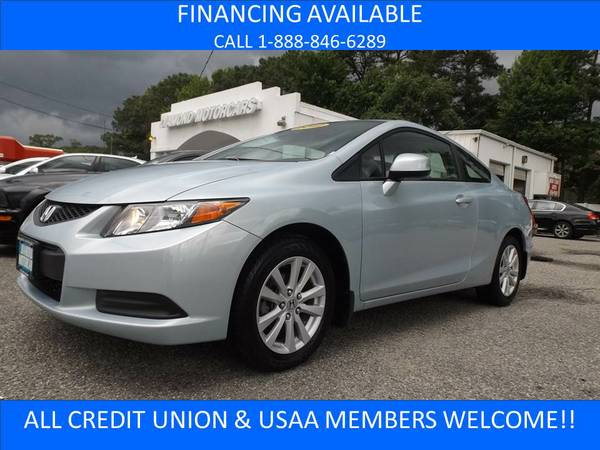 2012 HONDA CIVIC EX BLUE