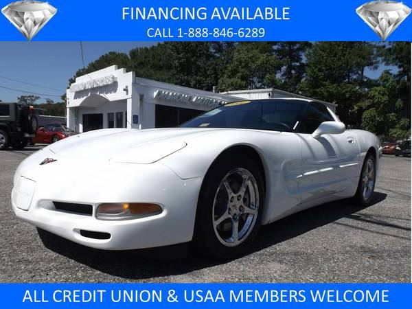 2004 CHEVROLET CORVETTE WHITE