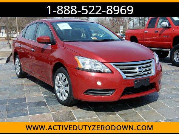 2014 NISSAN SENTRA SV --MILITARY $O DOWN FINANCING!_ALL CREDIT OK