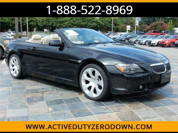 2006 BMW 650I --MILITARY $O DOWN FINANCING!_ALL CREDIT OK