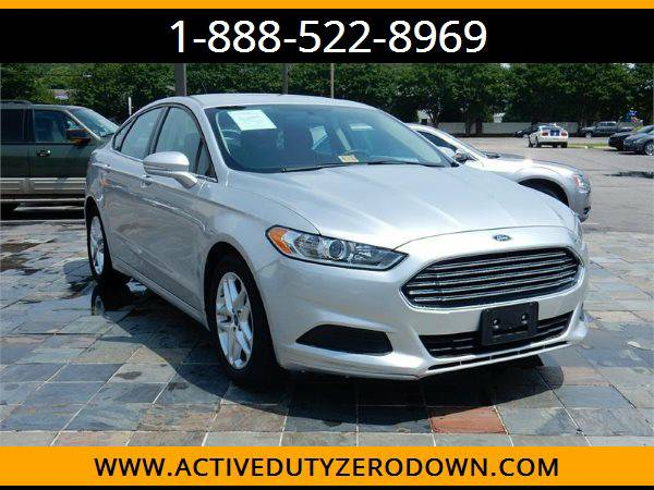 2013 FORD FUSION SE --MILITARY $O DOWN FINANCING!_ALL CREDIT OK